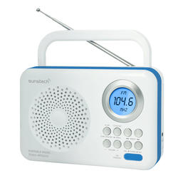 Radio Sunstech RPDS210BL Portable Am/fm