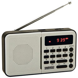 Radio Digital Daewoo DRP-122W Blanco