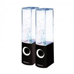 Altavoces Pc Dancing Omega OG12DSB 2.0 6w Usb Negro