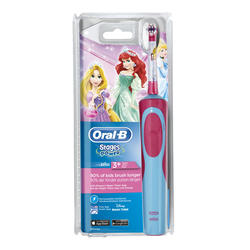 Oral B D12 Vitality Stages Princesas Cepillo Dental Braun + Vaso