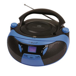 Nevir NVR-475U RADIO-CD/MP3 Azul
