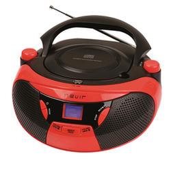 Nevir NVR-475U RADIO-CD/MP3 Rojo