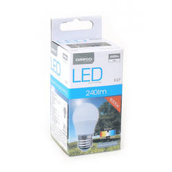 Bombilla LED 240 LM Omega OMELE27A-3W-6000 Confort
