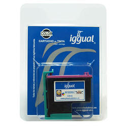 Cartucho Tinta Color Iggual PSICC644E HP Nº 300XL CC644