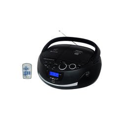 Radio-CD USB Portátil Nevir NVR-480UB Bluetooth Negro