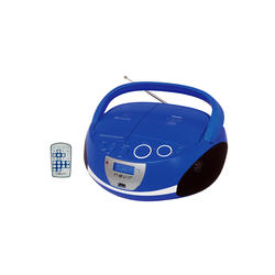 Radio CD Portátil Nevir NVR-480UB Azul MP3 USB Bluetooth
