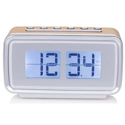 Radio Audiosonic CL-1474 Despertador Retro Alarma Dual