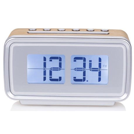 Radio Audiosonic CL-1474 Despertador Retro Alarma