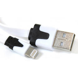Cable USB Omega OUIPLW Lightning Apple Iphones Blanco 2m