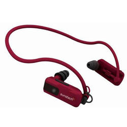 Auriculares MP3 Sunstech TRITON4GBRED Rojo 3m De Profundidad