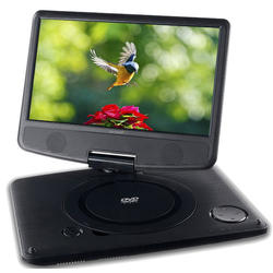 "Reproductor Dvd Portatil Sunstech DLPM912BK LCD 9"" USB"