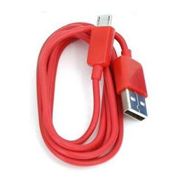Cable Omega OUCR Microusb-Usb 1m Rojo