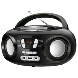 Radio Brigmton W-501-N Negra MP3 CD Bluetooth USB