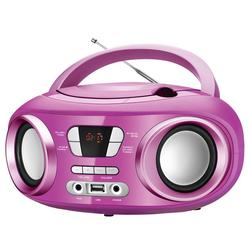 Radio Brigmton W-501-R Rosa MP3 CD Bluetooth USB