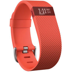 Pulsera Deportiva Fitbit FB405TAS Charge Hr Color Naranja Talla Pequeña