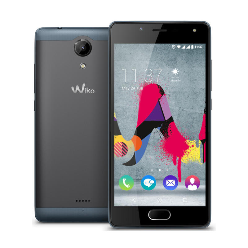 wiko u feel lite smartphone gris pizarra 5 pulgadas 16gb 2gb. Black Bedroom Furniture Sets. Home Design Ideas