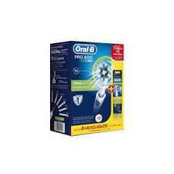 Pack Cepillo Dental Pro-600 Cross Action + 2 Recambios