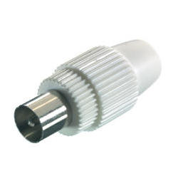 Conector vivanco antena macho (43000) Vivanco