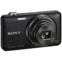 Camara Digital SONY DSCWX80B Negra 16MP 8X VFullhd Wifi Sony