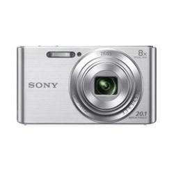 Kit Camara Digital Sony KW830SB Plata 20.1 Mp 8x 8gb + Funda