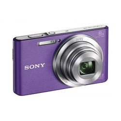Kit Camara Digital Sony KW830VB Violeta 20.1 Mp 8x 8gb + Funda