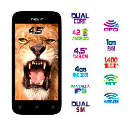"Movil Nevir NVR-S45 S1 4.5"" Smartphone 4gb"
