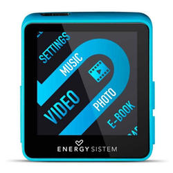 Reproductor MP4 Energy Sistem 4GB Color Azul