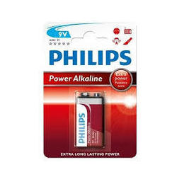 Pila Alcalina Philips 9v Lr61pb1 Powerlife Blisterx1