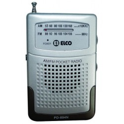Radio Elco PD-894 N de Bolsillo AM/FM