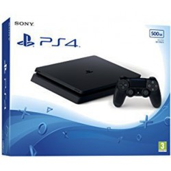 Consola Sony Playstation 4 Slim 500g Black Eu