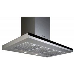 Campana Cata Mirage900 90 Inoxidable Negra LED Halogeno
