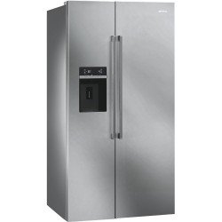 Frigorífico Side By Side Smeg SBS63XED 179x91 LED