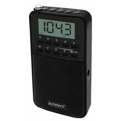 Radio CD/FM Sunstech RPDS81 Negro