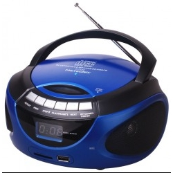 Radio CD/FM Metronic 477129 Azul Bluetooth