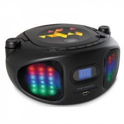 Radio CD/FM Metronic 477134 Color Negro