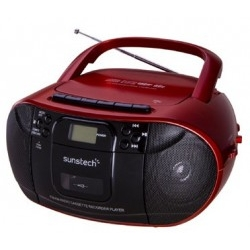 Radio Cassette Sunstech CXUM52 con CD