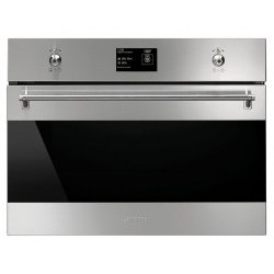 Horno Multifunción Smeg SF4395VCX Integrable 45 cm