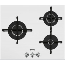 Placa Smeg PV163B-1 3 Fuegos Gas Natural