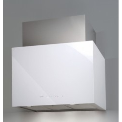 Campana de Pared Cata CUBE GLASS WHITE 70 cm