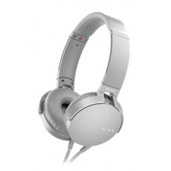 Auricular Diadema On Ear Sony MDRXB550APW.CE7