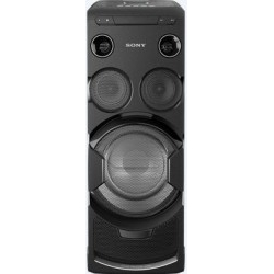 Equipo Música Sony MHC-V77DW Torre Negro LED WIFI