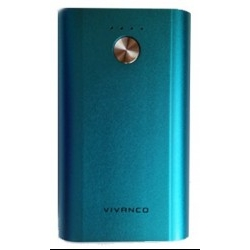 Vivanco 76833 Powerbank 6000mAh Azul