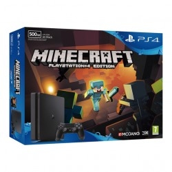 Consola Sony PS4 Slim 500GB + Juego Minecraft