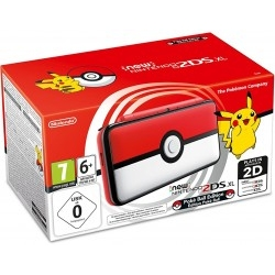 Consola Nintendo New 2DS XL Pokeball Edition Botón Central