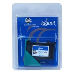 Cartucho Negro Iggual Psicl541 Brother LC985B