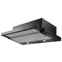 Campana Mepamsa Superline Glass 60 Negro 415 M3/H LED