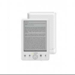 "Ebook Sunstech EBI8LTOUCH Azul blanco 8 GB 6"" USB"