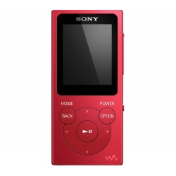 Reproductor MP3 Sony NWE394R Rojo 1.77 8GB 35H