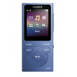 Reproductor MP4 Sony NW-E393L Azul 1.77 4GB 35H