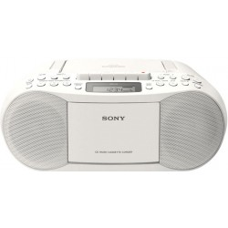 Radio CD/FM Sony CFD-S70 Blanco 3.4W MegaBass Stereo